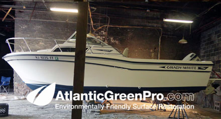 Atlantic Green Pro Marine and Boat Bottom Paint Removal
